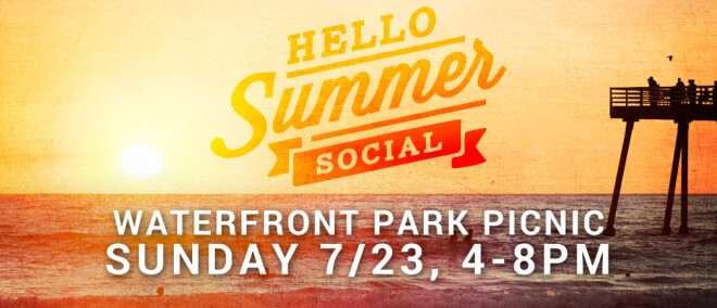 Hello Summer Socials: Waterfront Park Picnic