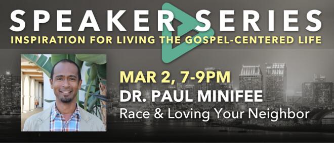 Speaker Series - Dr Paul Minifee