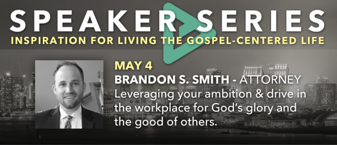 Speakers Series featuring Brandon Smith, Nationally-recognized Attorney