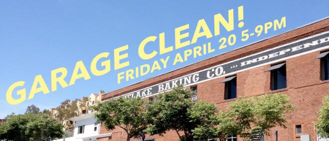 Moniker Garage Clean Up