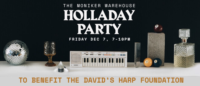 Holladay Party to Benefit David's Harp