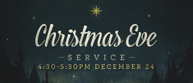 4:30PM Christmas Eve Service