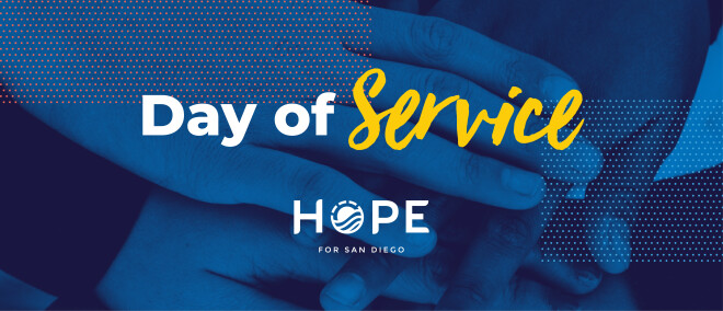 Day of Service with Hope for San Diego