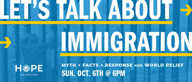 Let's Talk About Immigration, with Matt Soerens of World Relief