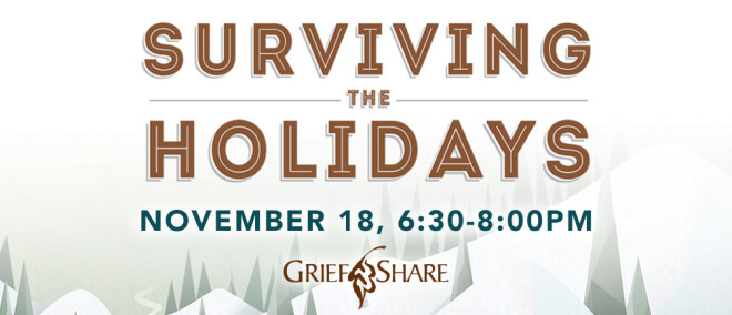 Griefshare - Surviving the Holidays 2019