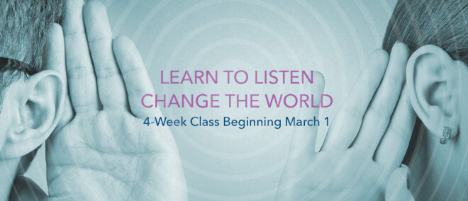 Learn To Listen Class