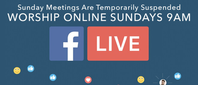9am ONLINE Services Every Sunday